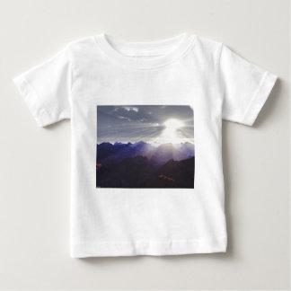 Dessus du monde t-shirt pour bébé