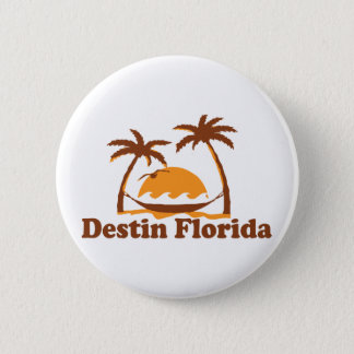 Destin Florida. 2 Inch Round Button