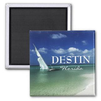 Destin Florida beached sailboat Magnet