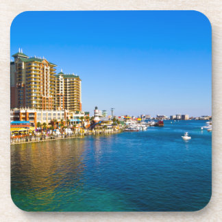Destin Florida Harbor Scenic Photo Drink Coasters
