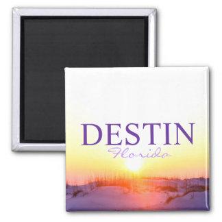 Destin Florida sunset over dunes Magnet