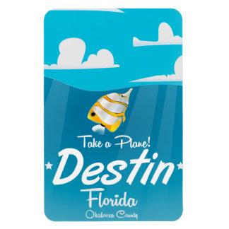 Destin Florida vintage travel poster. Magnet