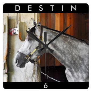 Destin - Horse Haven Wall Clocks