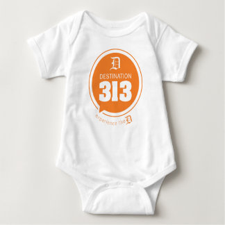 Destination 313 - for the kids! baby bodysuit