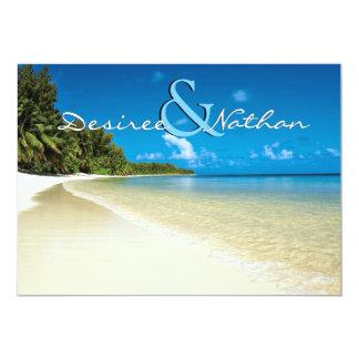 Destination Beach Wedding Invitation