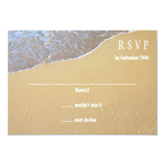 Destination Beach Wedding Invitation Reply Cards