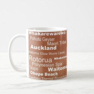 Destination Collection: New Zealand Coffee Mug
