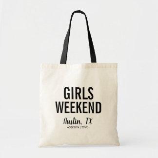 Destination Girls Weekend Tote Bag