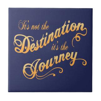 Destination Journey -txt Tile