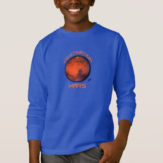"""Destination Mars Long Sleeve T-Shirt For Kids"