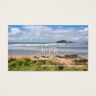 Destination Planner for UK Travel Vacations Business Card