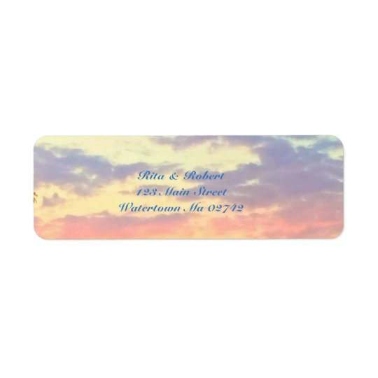 Destination Wedding Collection- Sunset Labels