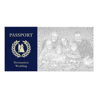 destination wedding passport card