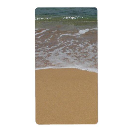 destination wedding sand beach
