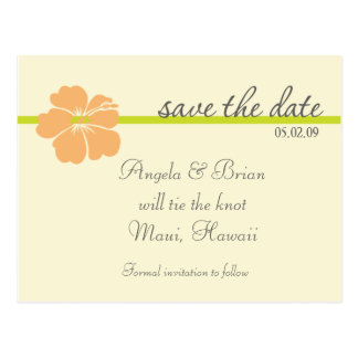Destination Wedding Save the Date TEMPLATE Postcard