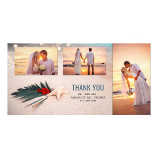 Destination Wedding Thank You Card