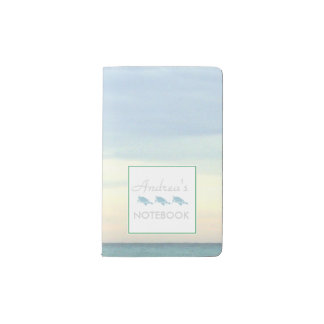 Destin's Emerald Coast Waters Pocket Moleskine Notebook