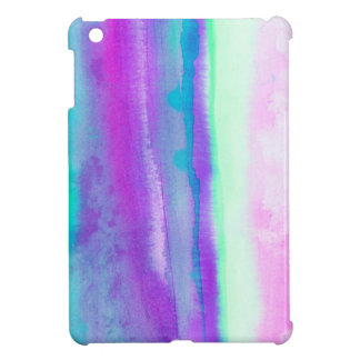 Destiny1.2 Abstract watercolor in pastel and neon iPad Mini Cover