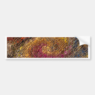 Destiny, an abstract creation bumper sticker