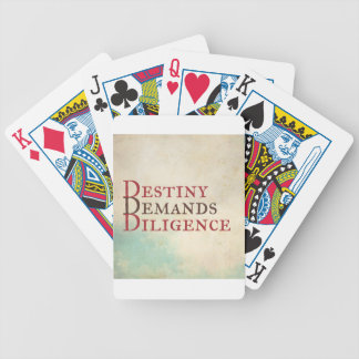 Destiny Bicycle Playing Cards