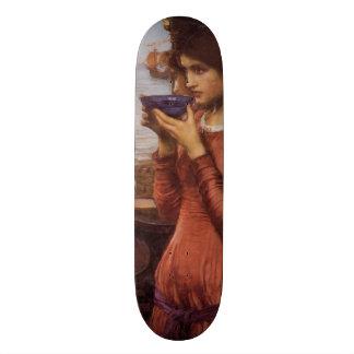 Destiny by John William Waterhouse Custom Skateboard