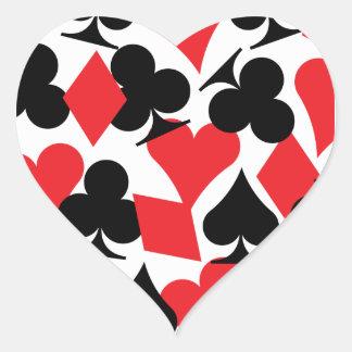 Destiny Las Vegas Wedding Heart Sticker