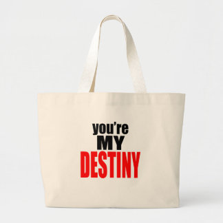 destiny lover girl boy romance couple marriage mar large tote bag