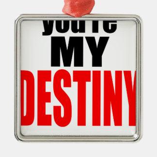 destiny lover girl boy romance couple marriage mar metal ornament