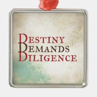 Destiny Metal Ornament
