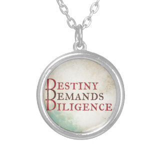 Destiny Silver Plated Necklace