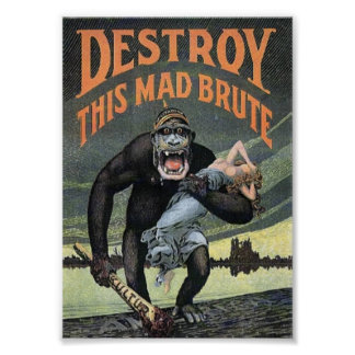 Destroy This Mad Brute Poster