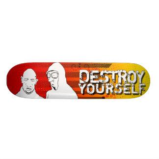 destroy yourself - sun skate decks