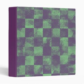 Destroyed Joker Checkered 3 Ring Binders