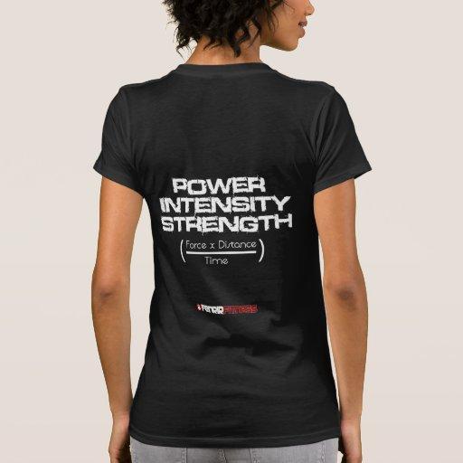 Destroyed Power Formula Shirt Tee Shirt