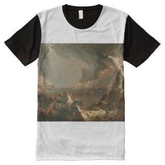 Destruction All-Over-Print T-Shirt