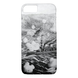 Destruction of Adml. Cervera's Spanish _War Image iPhone 7 Case