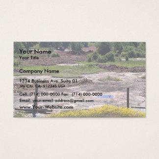 Destruction of granite outcrop habitat business card
