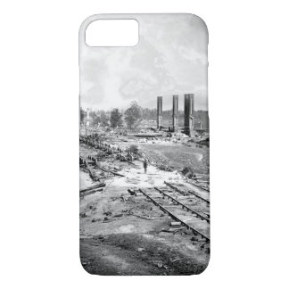 Destruction of Hood's_War Image iPhone 7 Case