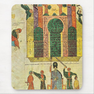 Destruction of the first temple by Nebuchadnezzar Mouse Pad