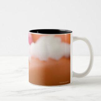 Destructive dog Two-Tone coffee mug