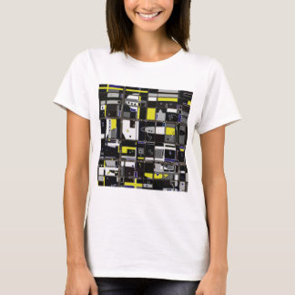 Destructured custom abstract design T-Shirt