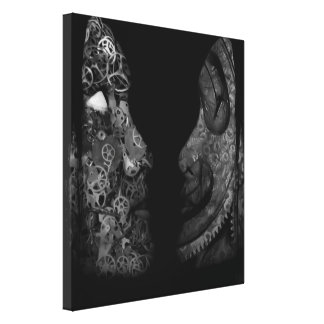 Detached Canvas Print