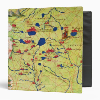 Detail from Europe and Central Asia 3 Ring Binder