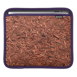 detail image of red cedar mulch for gardener iPad sleeve