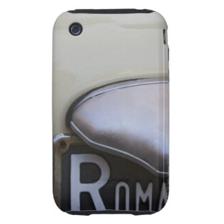 detail of a Roma number plate on a small Italian iPhone 3 Tough Covers