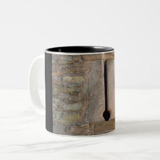Detail of a slit of the castle  on Two-Tone Mug