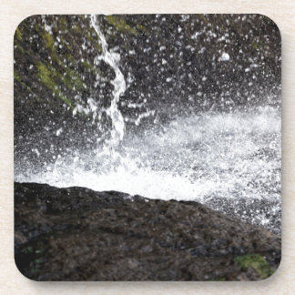 Detail of a small waterfall coaster