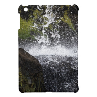 Detail of a small waterfall iPad mini covers