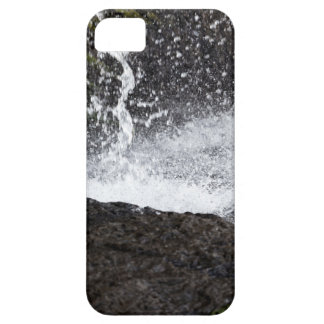 Detail of a small waterfall iPhone 5 case