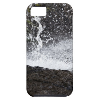 Detail of a small waterfall iPhone 5 cases